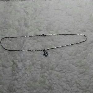 Jewelry - STERLING SILVER NECKLACE WITH AMETHYST